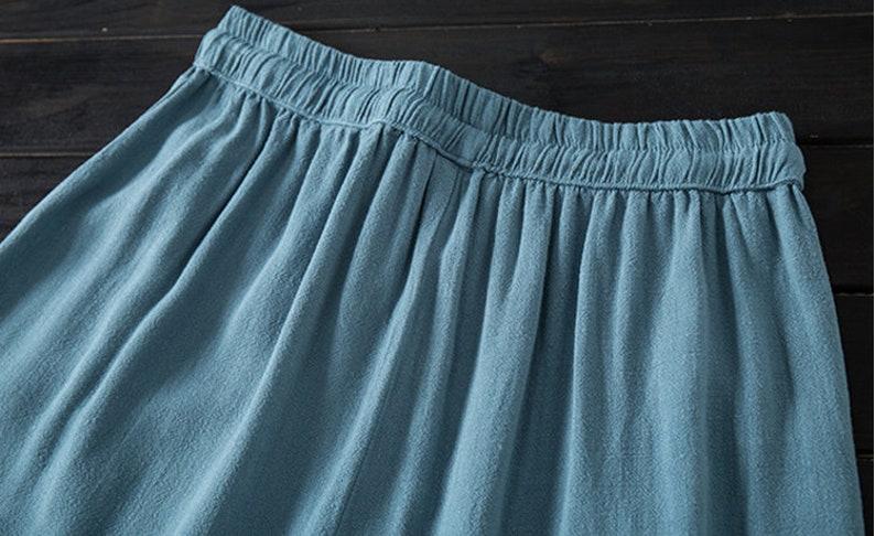 Retro Thicken Corduroy Pants Winter Slcks Wide Leg Pants Loose Pants Patchwork Pants Wool Pants Palazzo Pants Handmade Pants Gift For Her