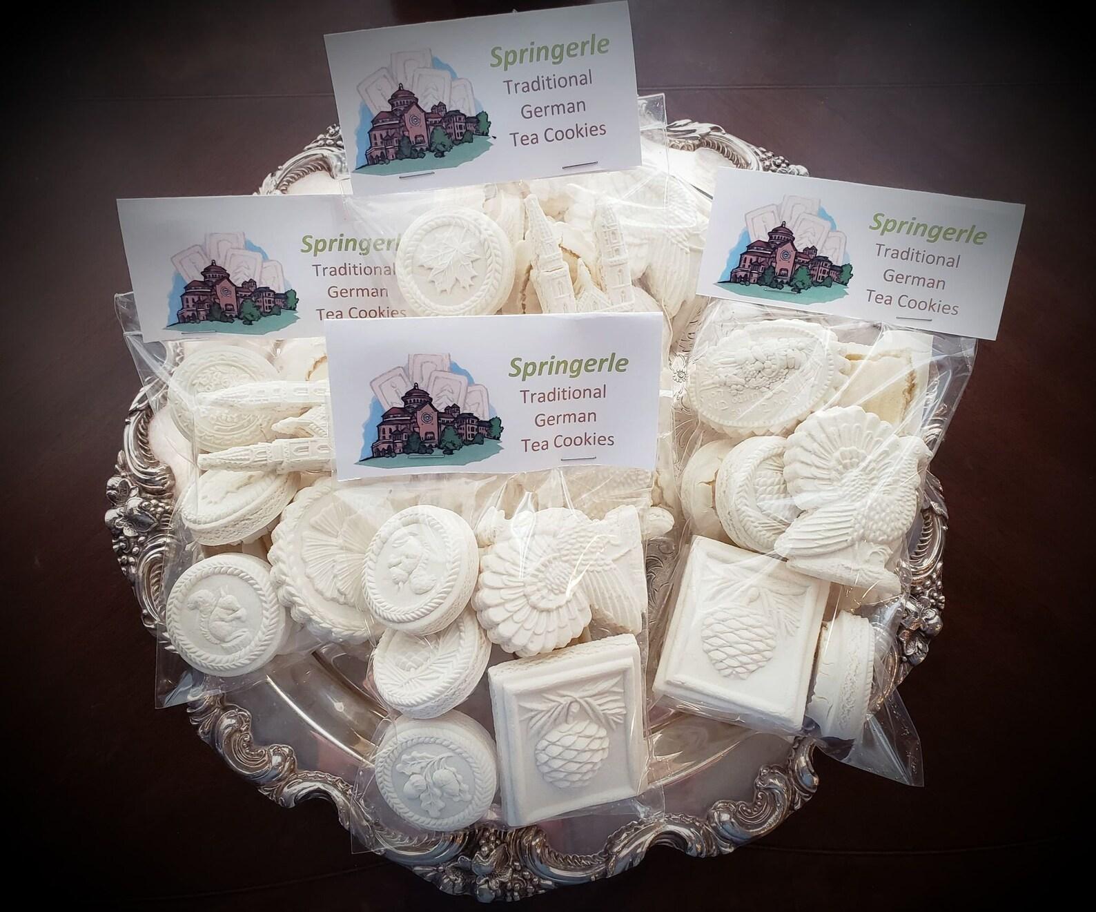 Handmade Springerle Cookies