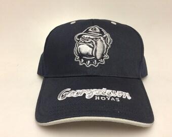 ef8412ac8a5 Georgetown Hoyas Vintage Dad Hat