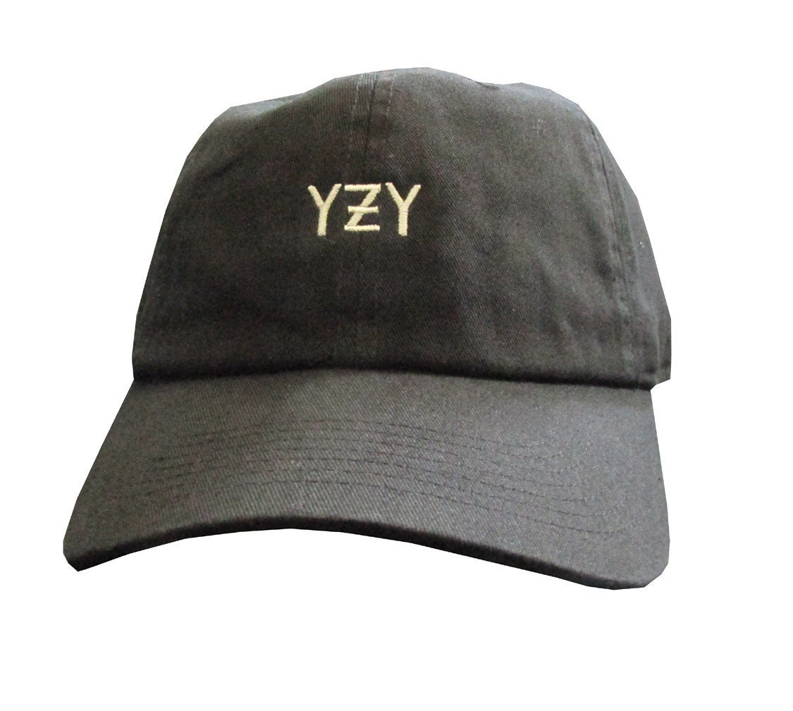 Kanye West YZY Dad Hat Hypebeast Dad Hats Low Profile Caps  7548ac751477