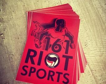"Sticker ""161 Riot Sports"" 1/25/50/100 pieces"