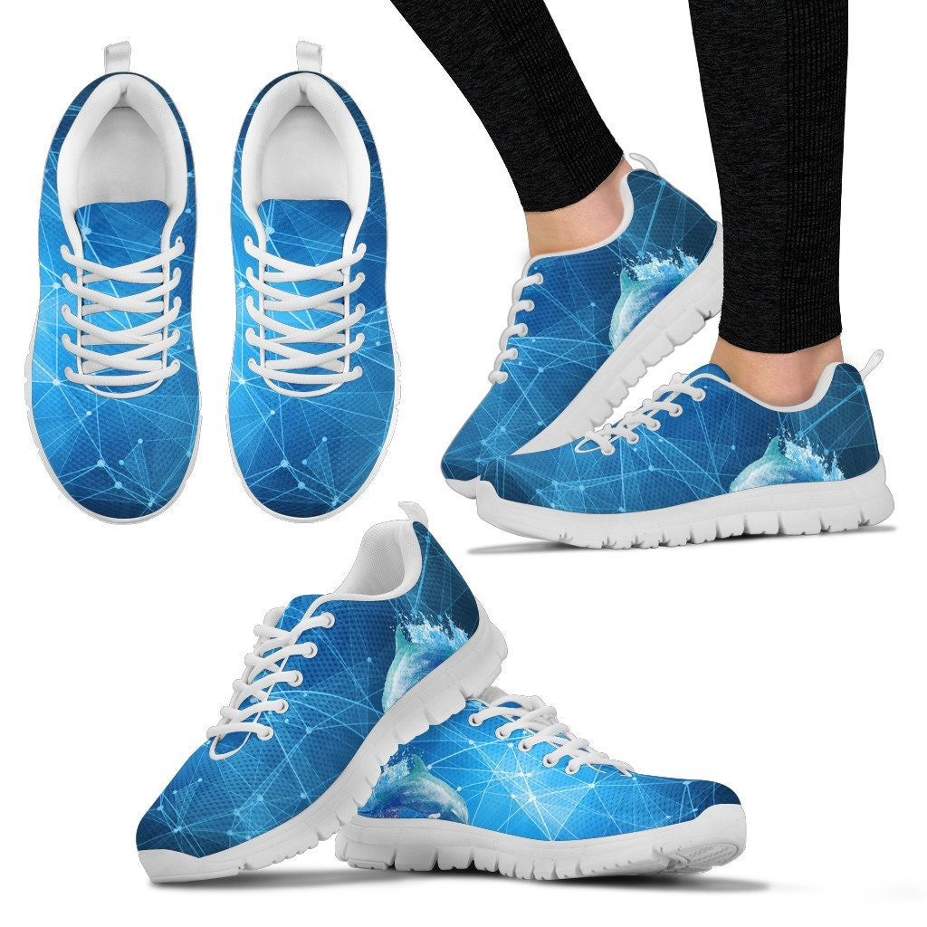 Women's Dolphin Shoes/Sneakers/Trainers + - Ladies + Shoes/Sneakers/Trainers Kids Sizes 00b807