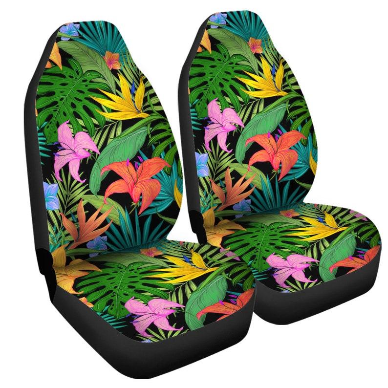 Hawaiian Car Seat Covers >> Hawaiian Car Seat Covers 2 Piece Front Universal Fit Hawaiian Design Seat Covers Hawaiian Lover Seat Covers Car Accessories