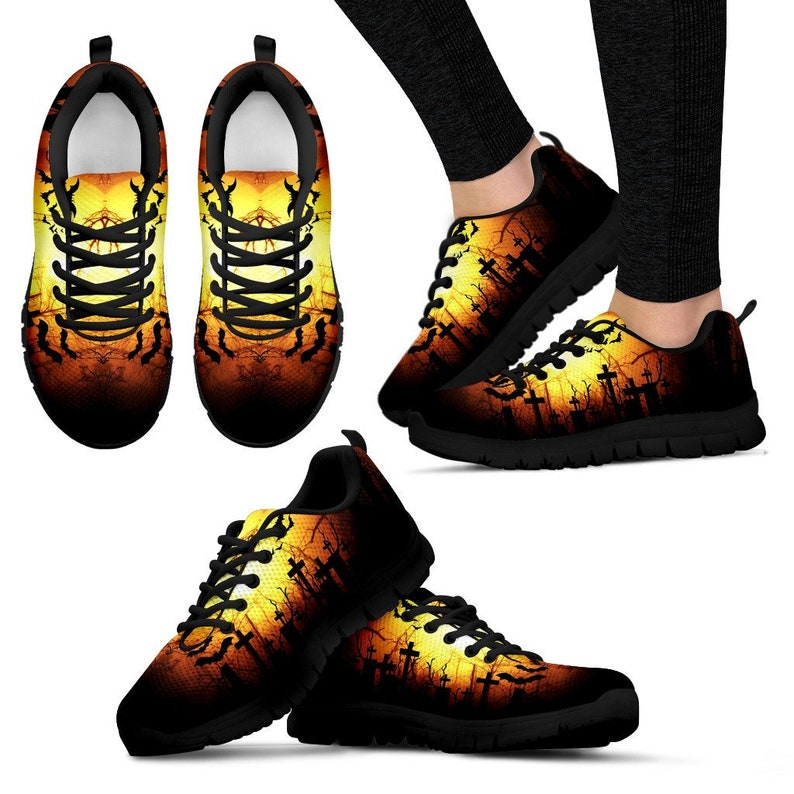 94fe3e7fbe20 Creepy Midnight Shoes Sneakers Trainers