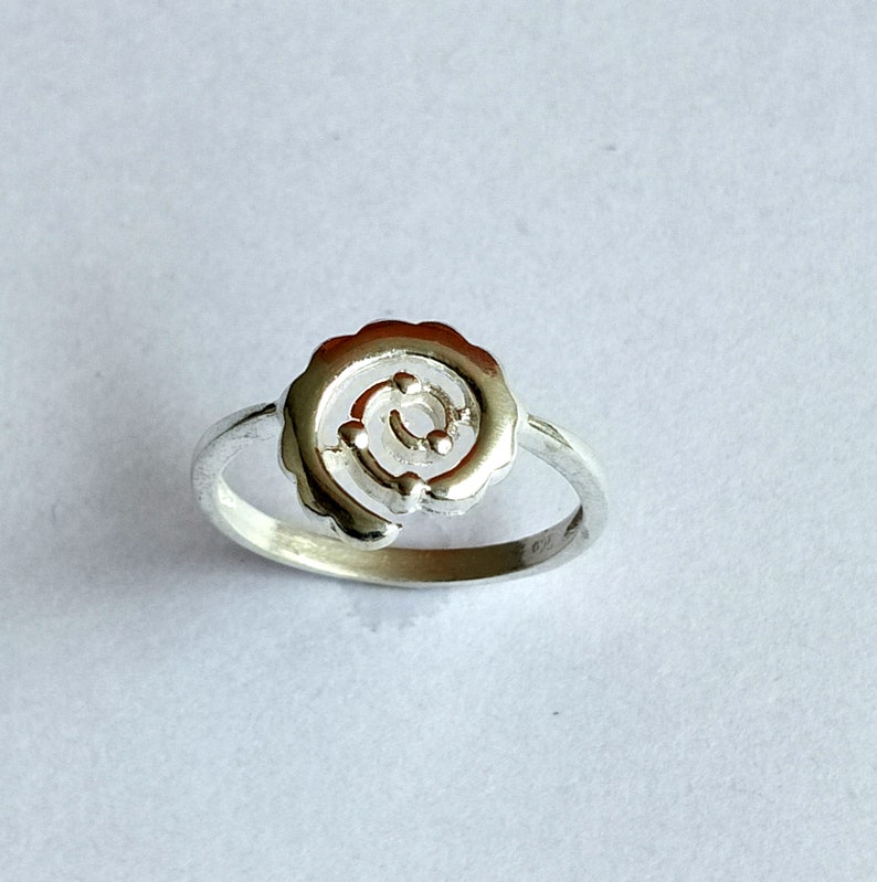 Beautiful Smart Finger Ring  Without Stone Sterling Silver 925  For Women/'s wear  Ring Size No 7