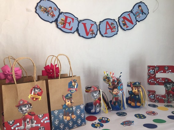 Paw Patrol Party Decorations Birthday Toddler