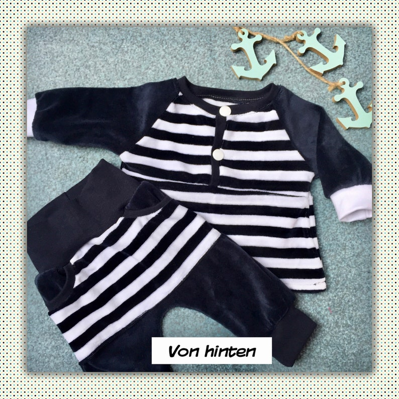 9bc254c485ae5 Baby Set trousers and shirt gr. 56   Etsy