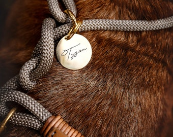Favorite paw Personalized dog brand ROUND with engraving
