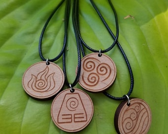 ATLA/LOK Pendant Necklaces (Individuals and Pack)
