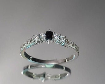 Details about  /Black Onyx Ring 925 Sterling Silver Ring Anxiety Ring Boho Ring All Size AK-919