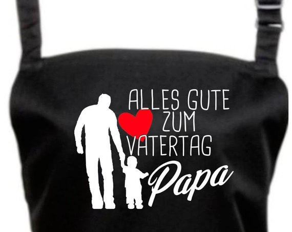 "Chef Baking Apron ""All The Good Father's Day Dad"" Grilling Grill Apron Apron DIY Garden Latzschürze"