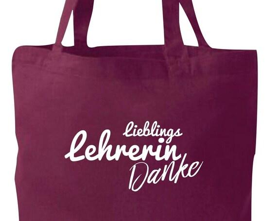 Cloth bag jute cotton bag favorite teacher Thank you gift to female teachers
