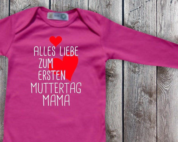 Baby Body Long Sleeve Baby Bodysuit All Love for First Mother's Day Mom