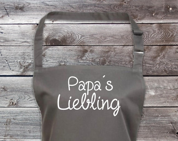 "Cook Baking Apron ""Dad's Darling Father's Day Dad Dad"" GrillIng Grill Apron Apron DIY Garden Latzschürze"