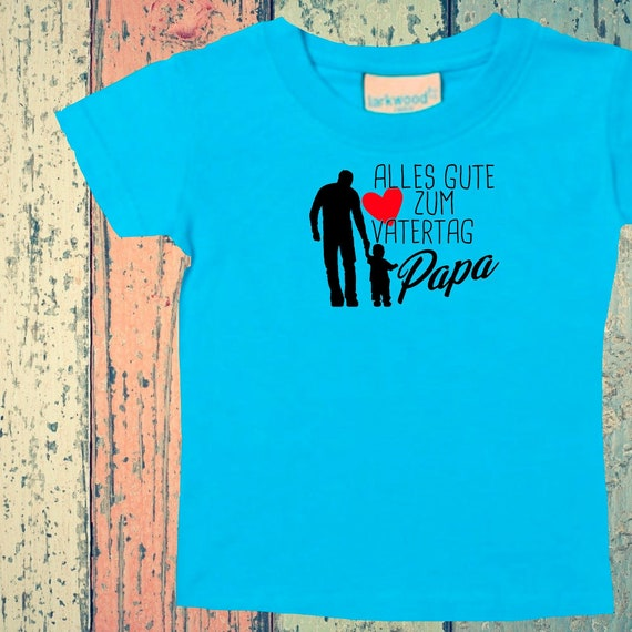 Baby Kids T-Shirt Happy Father's Day Dad Gift Birth Dad's Day