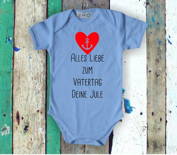 Baby Bodybody Babybody All Love for Father's Day with Wish Name Text Name Dad Dad