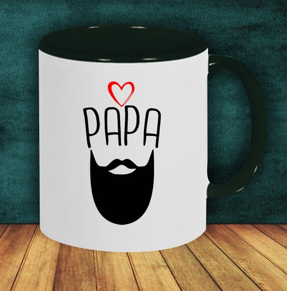 "Coffee Pot ""Dad Beard Best Dad"" Cup Coffee Cup Teacup Gift Mug"