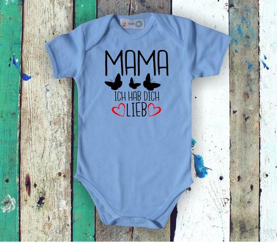 Baby Body Baby Body MAMA I Hab You Lieb Butterflies