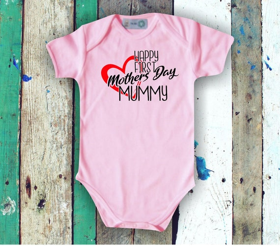 Baby Bodybody Happy First Mothers Day Mummy