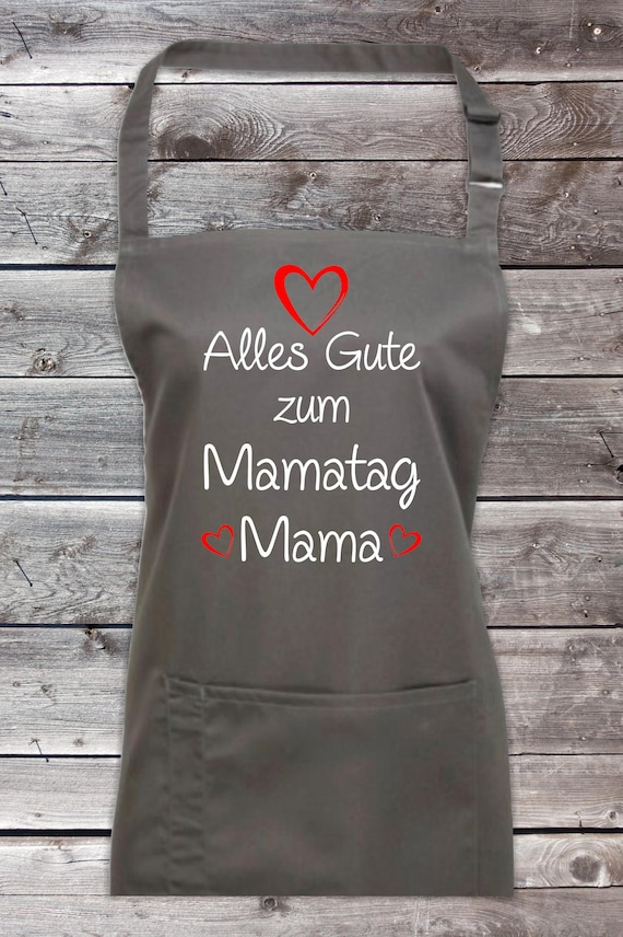 """Cook Baking Apron """"All The Happy Mama's Day Mommy"""" Grilling Grill Apron Apron DIY Garden Latzschürze"""