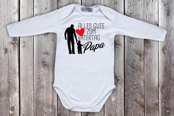 Baby Body Long Sleeve Baby Bodysuit Happy Father's Day Gift Longsleeve