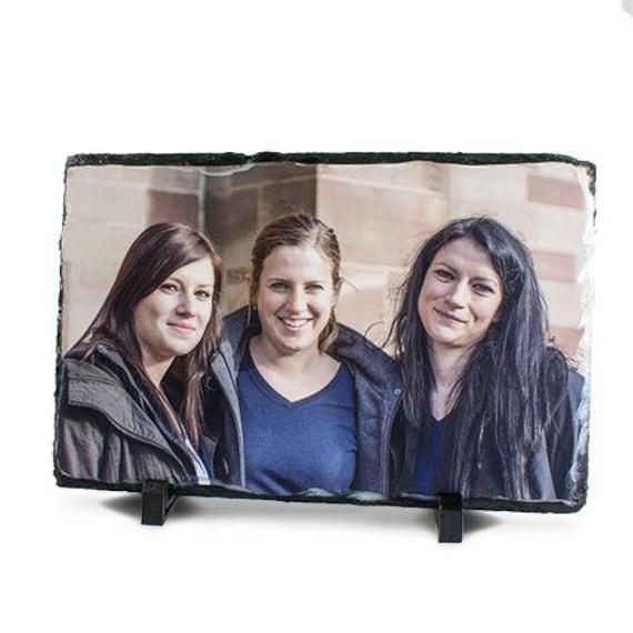 Foto auf Schieferplatte mit deinem Foto verzaubert