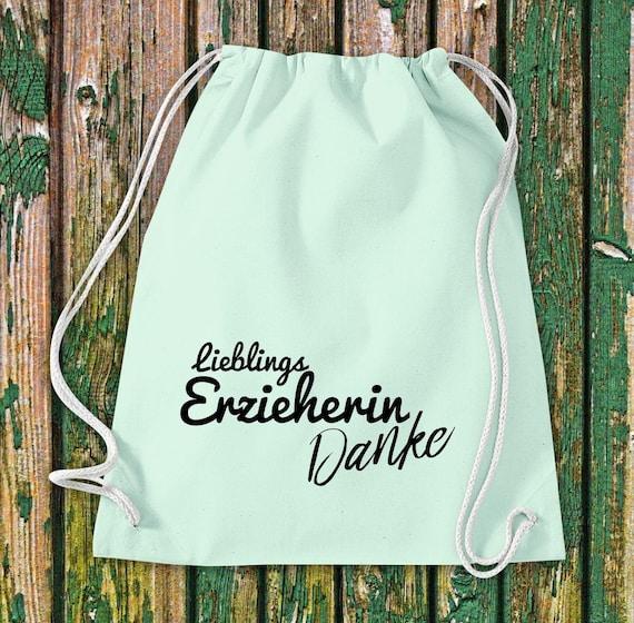 Gym bag favorite educator Thank you gift to educators cotton