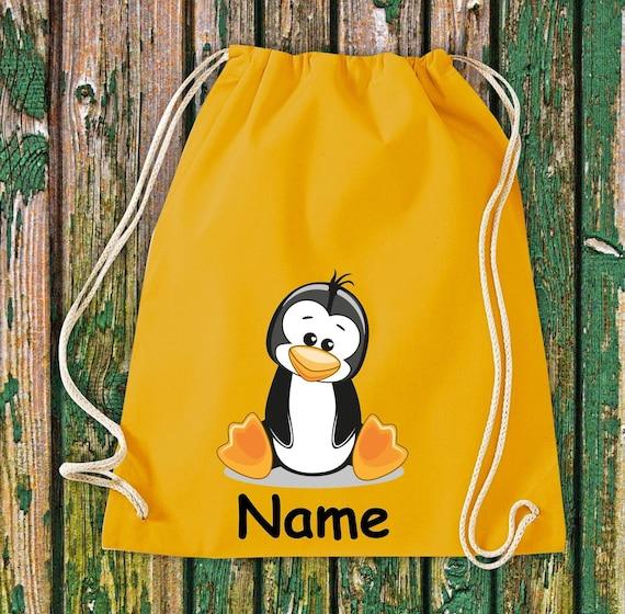 Gymnasticbag Animal Motifs with Wish Name Kids Motifs Gymsack Sports Bag