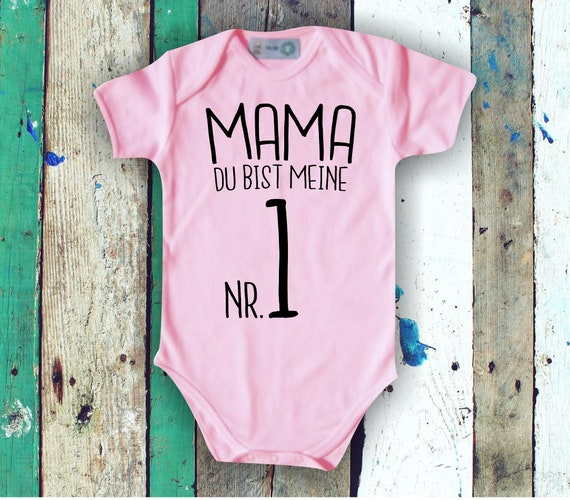 Baby Body Babybody Mama du bist meine Nr. 1