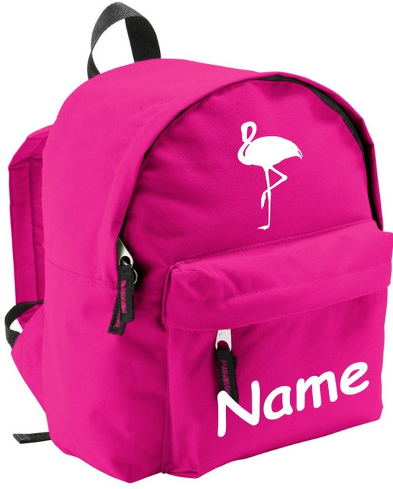 Children's backpack Flamingo with wishful name Kita