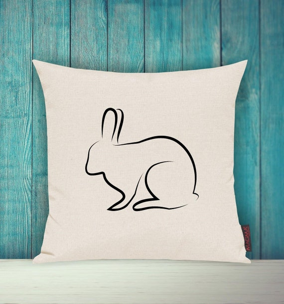 "Cushion Cover Sofa Pillow ""Easter Bunny Bunny"" Easter Easter Bunny Sofa Pillow Deco Couch Pillow Pillow"