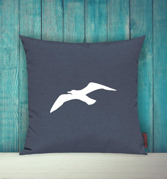 Cushion Covers Decorative PillowSailing MÖWE Maritim Sea Holiday Home Sofa Pillow