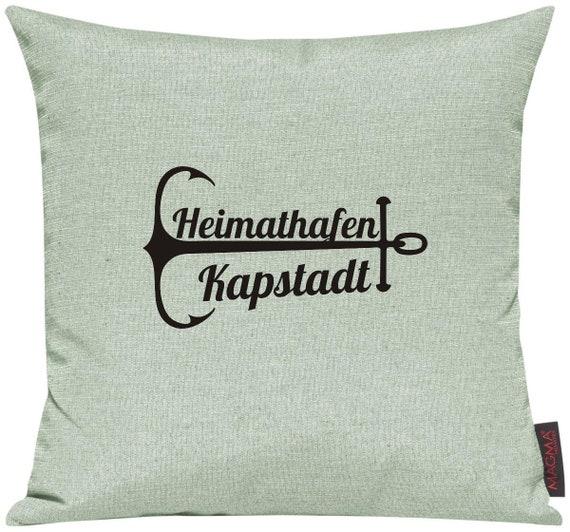 Kissenhülle Sofa Kissen Heimathafen KAPSTADT