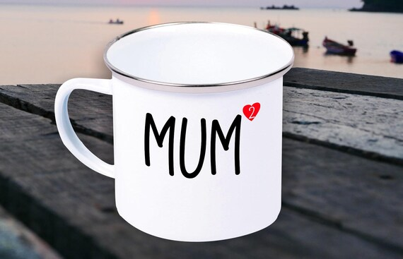 Enamel Mug Mug Mom Dad High 2, 3, 4 or 5 Gifts for The Love Family Coffee Tea
