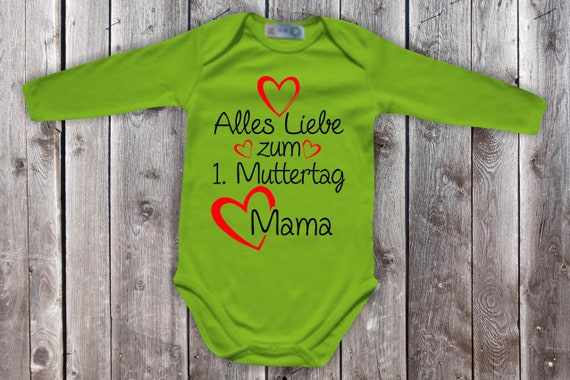 Baby Bodybody Babybody Long Sleeve All Love for 1st Mother's Day Mom