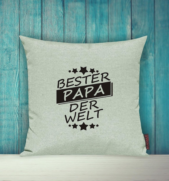 Cushion Covers Deco Pillow Best Dad in the World
