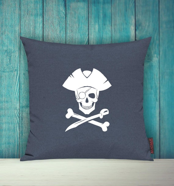 """Cushion Cover Sofa Pillow """"Pirate Holiday Family"""" Sofa Cushion Decoration Couch Cuddly Pillow"""