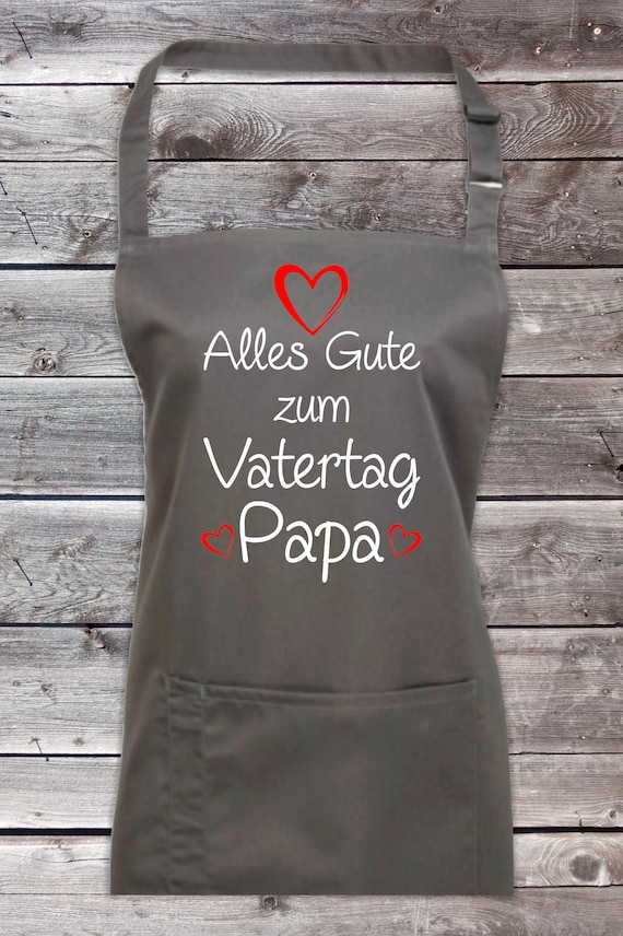 """Chef Baking Apron """"All The Good Father's Day Dad"""" Grilling Grill Apron Apron DIY Garden Latzschürze"""