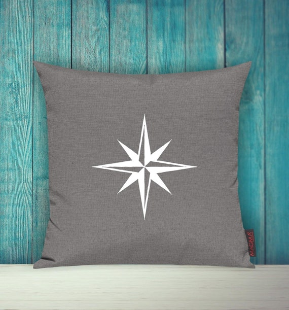 """Cushion Cover Sofa Pillow """"Nautical Star Holiday Family"""" Sofa Cushion Decoration Couch Cuddly Pillow"""
