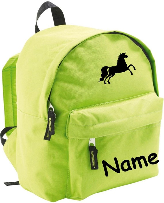 Children's Backpack unicorn with wish name Kita