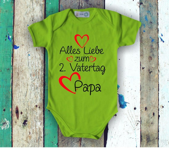 Baby Bodybody BabyBody All Love for 2nd Father's Day Dad Gift Birth Dad's Day