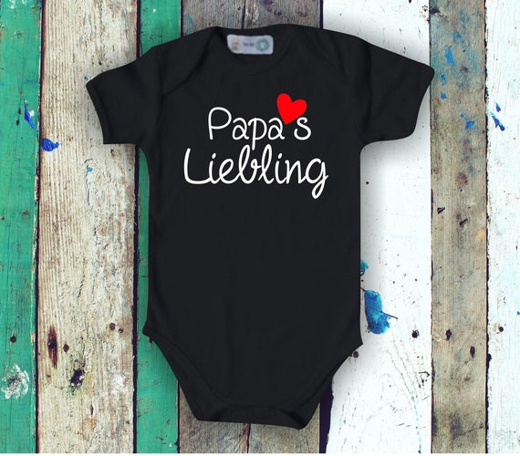 Baby Bodybody Babybody Dad's Darling Heart Father's Day Dad's Day Gift