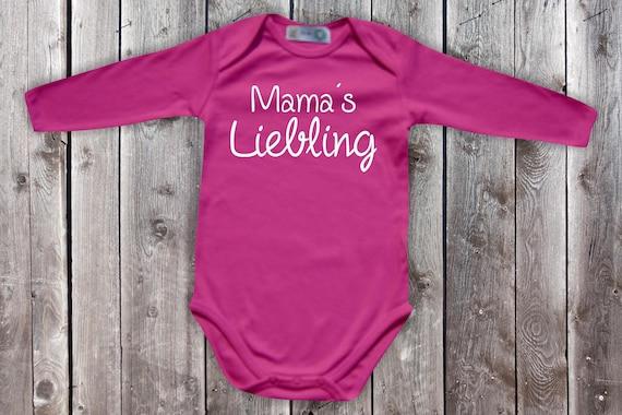Baby Bodylong Arm BabyBody Mom's Darling Heart Mother's Day Momday Gift Longsleeve