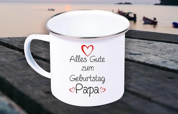 Enamel Mug Mug Happy Birthday, Grandma Grandpa, Dad, Mom, Uncle, Aunt....