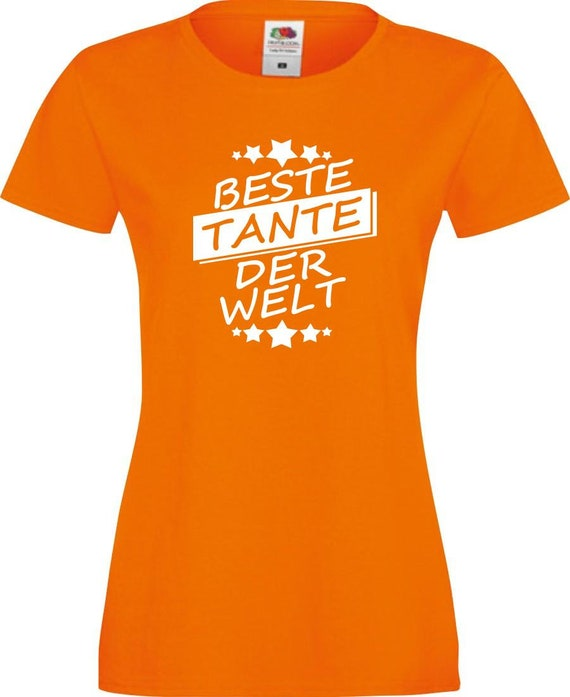 Lady Shirt Best aunt in the world