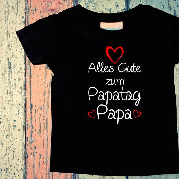 Baby Kids T-Shirt Happy Dad's Day Gift Birth Father's Day