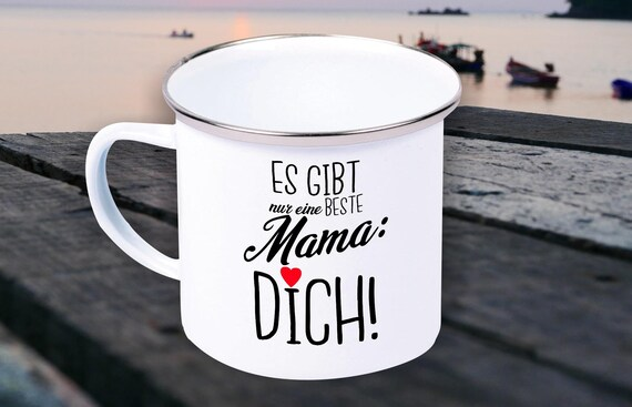Enamel Mug Mug There Is Only one Best Sister, Mom, Grandma.... You! Gifts for the Love Family Coffee Tea