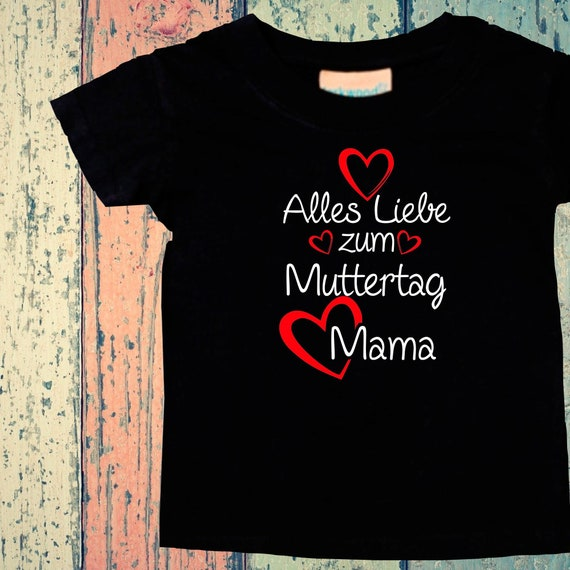 Baby Kids T-Shirt All Love to Mother's Day Mom Gift Birth Momday