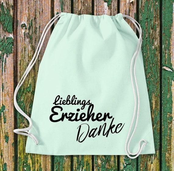 Gymnastics bag favorite educator thank you gift to educator cotton