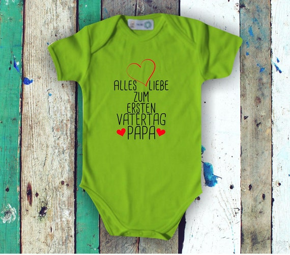 Baby Body short sleeve All Love for First Father's Day Dad